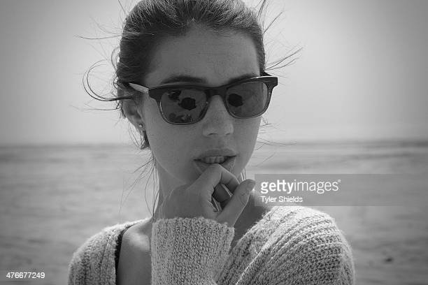 Actress Adelaide Kane is photographed for Self Assignment on March 15 2014 in Los Angeles California