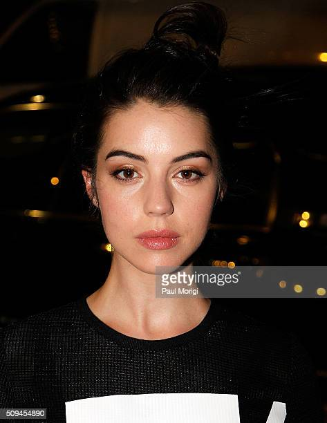 Actress Adelaide Kane is seen in Chelsea on February 10 2016 in New York City