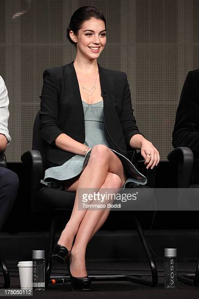 Actress Adelaide Kane of the TV show 'Reign' attends the Television Critic Association's Summer Press Tour CBS/CW/Showtime Panels held at The Beverly...
