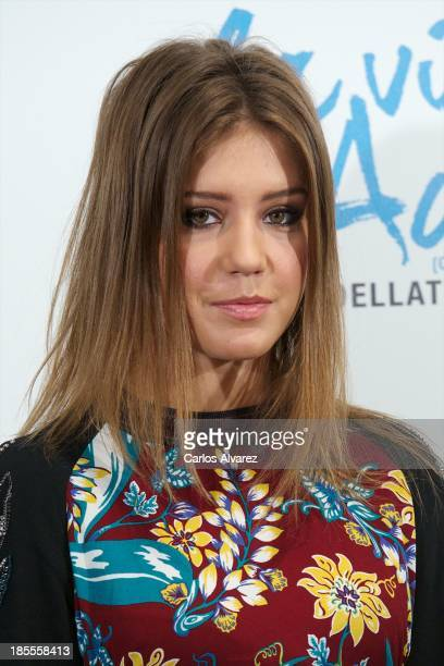 Actress Adele Exarchopoulos attends 'La Vida De Adele' photocall at the Santo Mauro Hotel on October 22 2013 in Madrid Spain