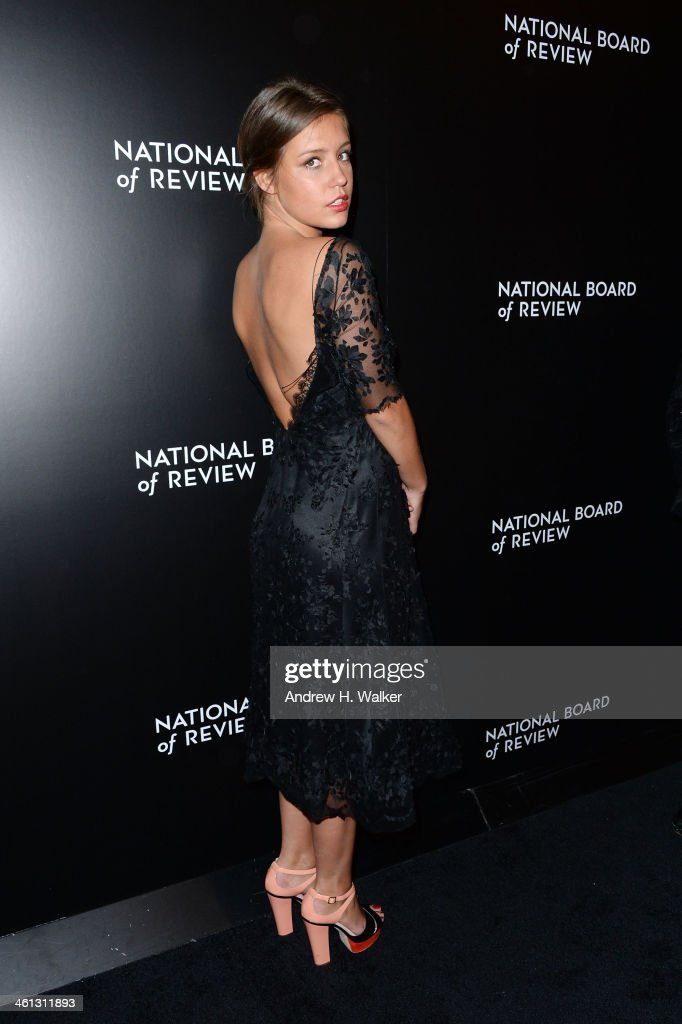 2014 National Board Of Review Awards Gala - Inside Arrivals : News Photo