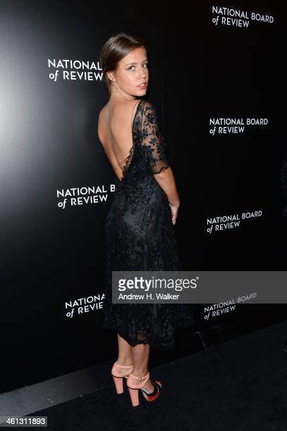 Actress Adele Exarchopoulos attends the 2014 National Board Of Review Awards Gala at Cipriani 42nd Street on January 7 2014 in New York City