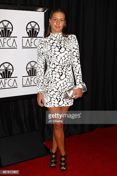 Actress Adele Exarchopoulos attends The 39th Annual Los Angeles Film Critics Association Awards at InterContinental Hotel on January 11 2014 in...