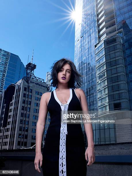 Actress Adele Exarchopoulos is photographed for Madame Figaro on September 8 2016 at the Toronto Film Festival in Toronto Canada PUBLISHED IMAGE...