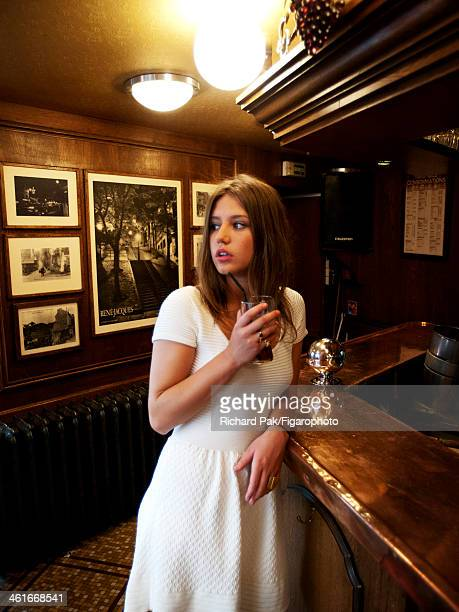 107386002 Actress Adele Exarchopoulos is photographed for Madame Figaro on July 5 2013 in Paris France PUBLISHED IMAGE CREDIT MUST READ Richard...