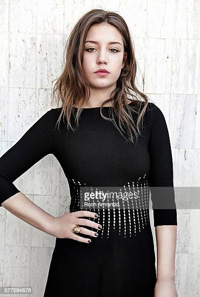 Actress Adele Exarchopoulos is photographed for Self Assignment on May 20 2013 in Cannes France