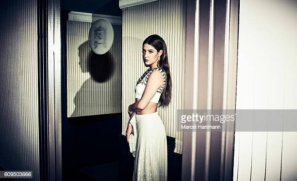 Actress Adele Exarchopoulos is photographed for Vanity Fair Italy on May 12 2016 in Cannes France