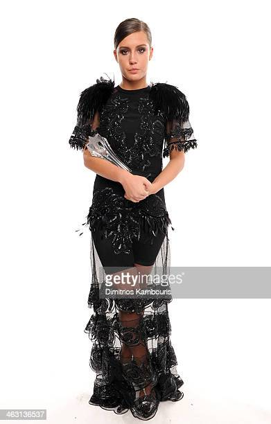 Actress Adele Exarchopoulos winner of the Best Young Actor/Actress award for Blue Is the Warmest Colour poses for a portrait during the 19th Annual...