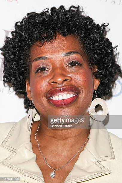 Actress Adele Givens arrives at Tommy Davidson's birthday celebration at HOME on November 10 2013 in Beverly Hills California