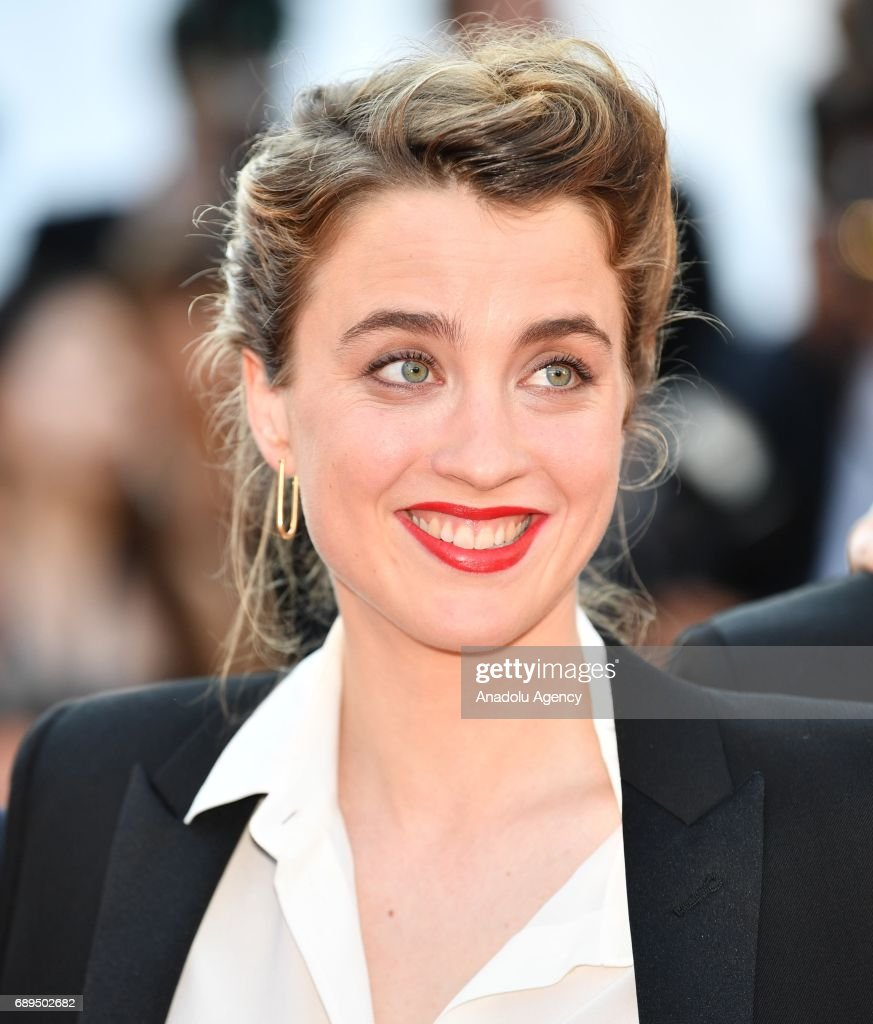Actress Adele Haenel arrives for the Closing Awards Ceremony of the 70th annual Cannes Film Festival in Cannes, France on May 28, 2017.