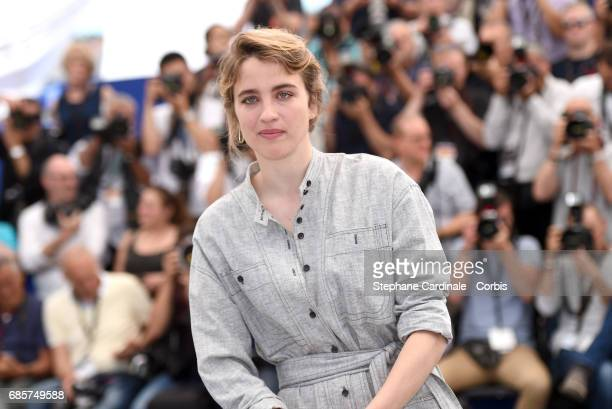 Actress Adele Haenel attends 120 Beats Per Minute photocall during the 70th annual Cannes Film Festival at Palais des Festivals on May 20 2017 in...