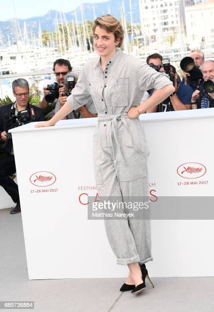 Actress Adele Haenel attends the '120 Beats Per Minute ' photocall during the 70th annual Cannes Film Festival at Palais des Festivals on May 20 2017...