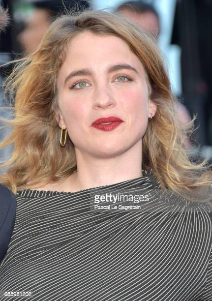 Actress Adele Haenel attends the '120 Beats Per Minute ' screening during the 70th annual Cannes Film Festival at Palais des Festivals on May 20 2017...