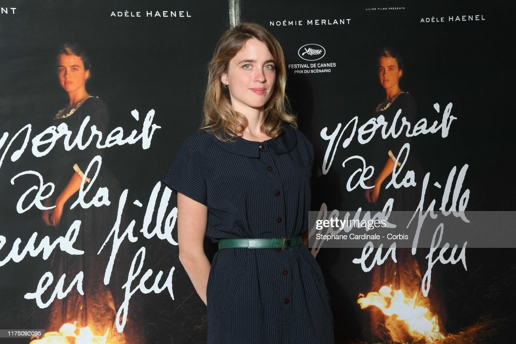 'Portrait de la Jeune Fille En Feu' Paris Premiere At UGC Les Halles : News Photo