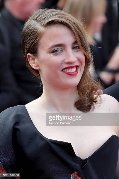 Actress Adele Haenel attends The Unknown Girl Premiere during the 69th annual Cannes Film Festival at the Palais des Festivals on May 18 2016 in...