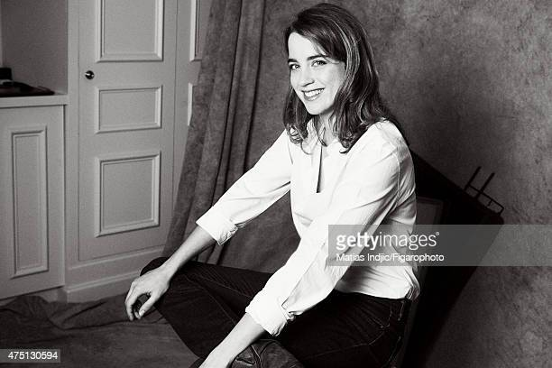 Actress Adele Haenel is photographed for Madame Figaro on January 19 2015 in Paris France Shirt Makeup by Givenchy Le Make Up CREDIT MUST READ Matias...
