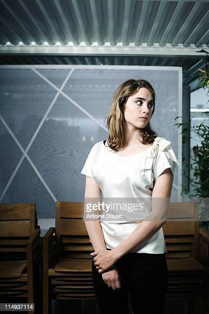 Actress Adele Haenel is photographed for Self Assignment on May 17 2011 in Cannes France