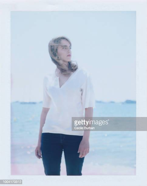 Actress Adele Haenel is photographed for Self Assignment on May 2014 in Cannes France