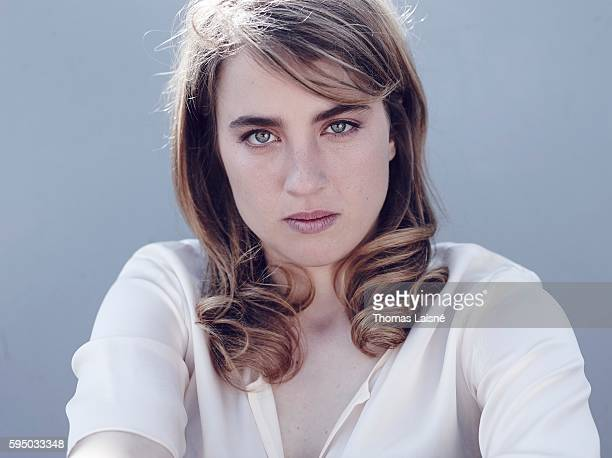 Actress Adele Haenel is photographed for Self Assignment on May 23 2014 in Cannes France