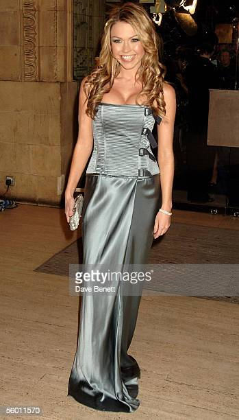 Actress Adele Silva arrives at the National Television Awards 2005 at the Royal Albert Hall on October 25 2005 in London England