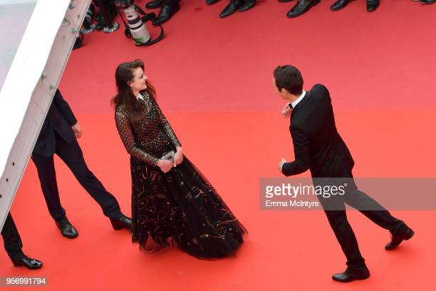 Actress Adele Wismes attends the screening of 'Sorry Angel ' during the 71st annual Cannes Film Festival at Palais des Festivals on May 10 2018 in...