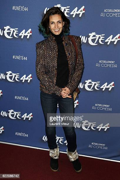 Actress Adeline Blondieau attends 'Un Ete 44' Theater Play at Le Comedia on November 9 2016 in Paris France