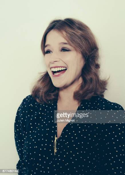 Actress Adeline d'Hermy is photographed for Le Monde on November 2017 in Paris France