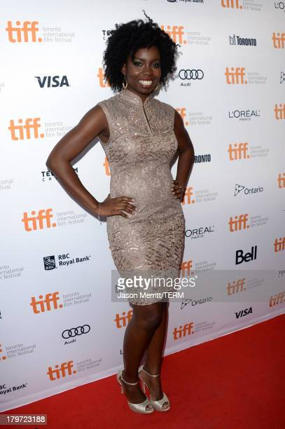 Actress Adepero Oduye arrives at the 12 Years A Slave Premiere during the 2013 Toronto International Film Festival Princess of Wales Theatre on...