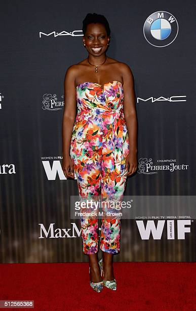 80d9e54f9bca Actress Adepero Oduye attends Ninth Annual Women in Film PreOscar Cocktail  Party presented by Max Mara