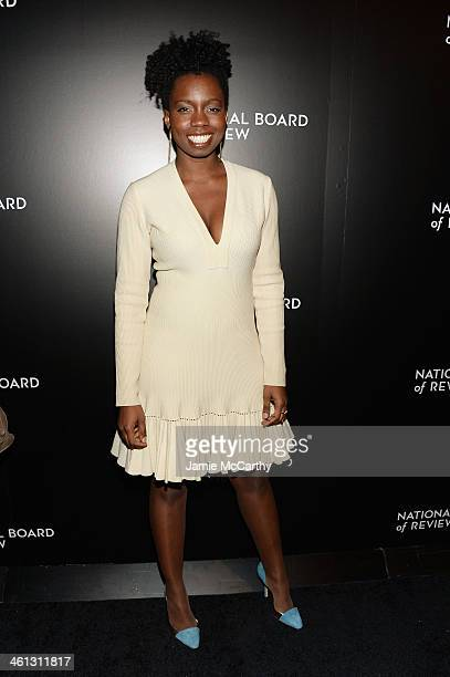 Actress Adepero Oduye attends the 2014 National Board Of Review Awards Gala at Cipriani 42nd Street on January 7 2014 in New York City