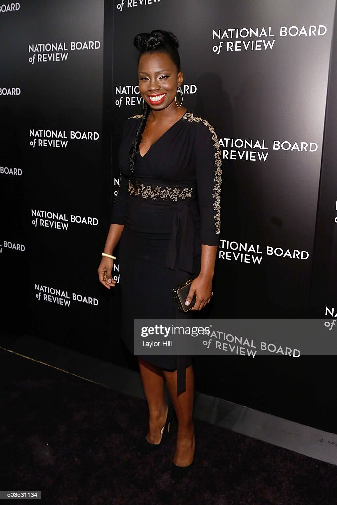 Actress Adepero Oduye attends the 2015 National Board of Review Gala at Cipriani 42nd Street on January 5, 2016 in New York City.