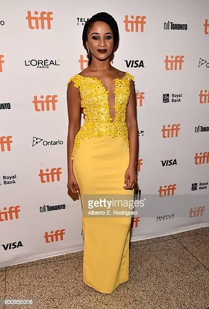 Actress Adesua Etomi attends The Wedding Party premiere during the 2016 Toronto International Film Festival at The Elgin on September 8 2016 in...
