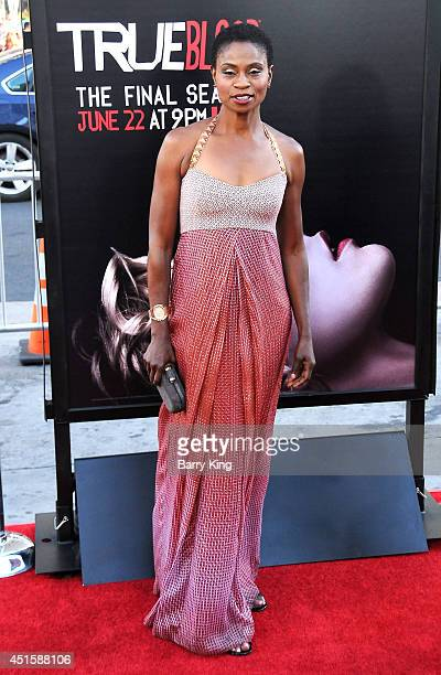 Actress Adina Porter arrives at HBO's 'True Blood' Final Season Premiere on June 17 2014 at TCL Chinese Theatre in Hollywood California