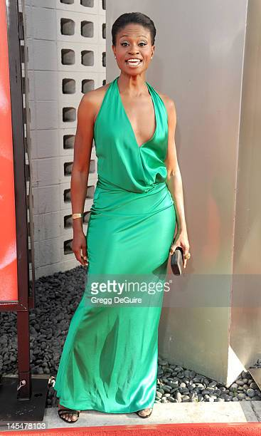 Actress Adina Porter arrives at HBO's 'True Blood' Season 5 Los Angeles premiere at ArcLight Cinemas Cinerama Dome on May 30 2012 in Hollywood...