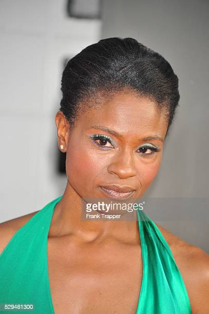 Actress Adina Porter arrives at the fifth season premiere of HBO's True Blood held at The Cinerama Dome in Hollywood