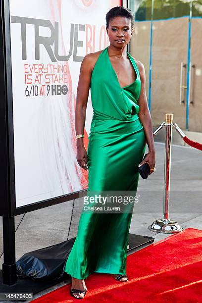Actress Adina Porter attends HBO's 'True Blood' Season 5 Los Angeles premiere at ArcLight Cinemas Cinerama Dome on May 30 2012 in Hollywood California