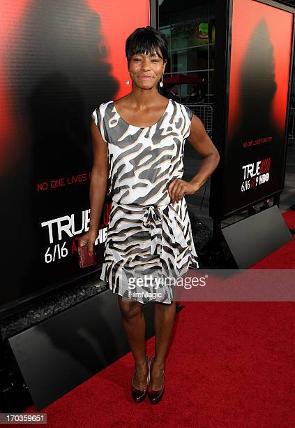 Actress Adina Porter attends HBO's 'True Blood' season 6 premiere at ArcLight Cinemas Cinerama Dome on June 11 2013 in Hollywood California