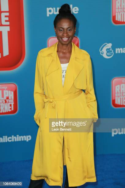 Actress Adina Porter attends Premiere Of Disney's 'Ralph Breaks The Internet' Arrivals on November 05 2018 in Los Angeles California