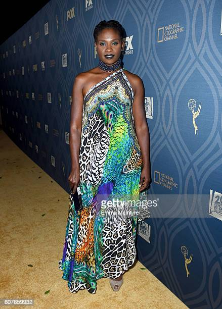 Actress Adina Porter attends the FOX Broadcasting Company FX National Geographic And Twentieth Century Fox Television's 68th Primetime Emmy Awards...