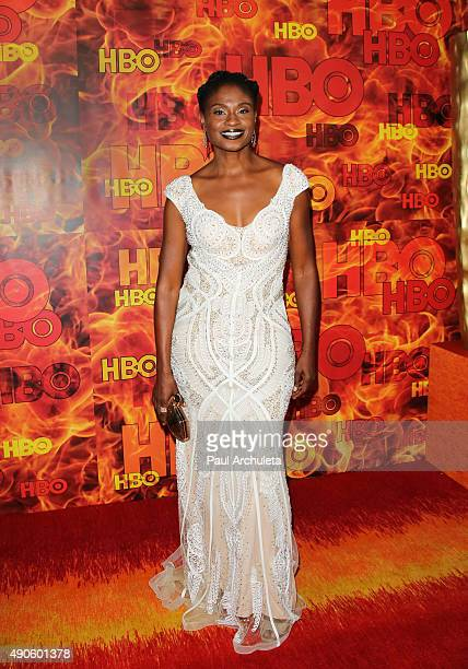 Actress Adina Porter attends the HBO's Official 2015 Emmy After Party at The Plaza at the Pacific Design Center on September 20 2015 in Los Angeles...