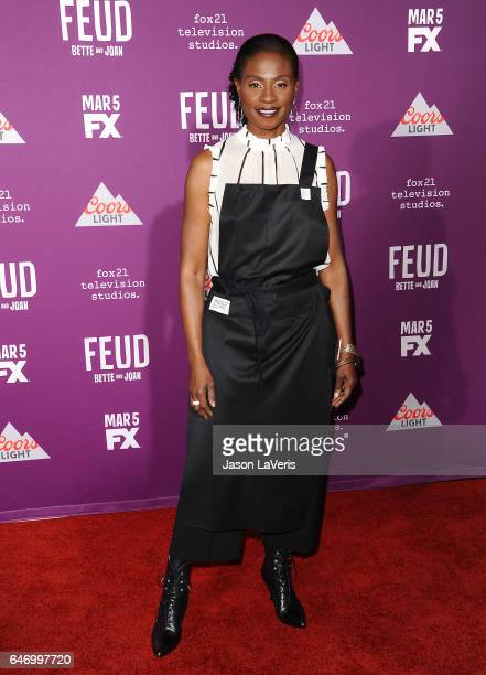 Actress Adina Porter attends the premiere of 'Feud Bette and Joan' at TCL Chinese Theatre on March 1 2017 in Hollywood California