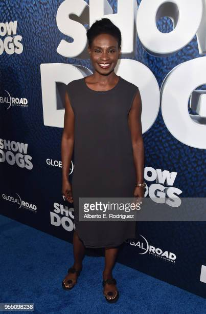 Actress Adina Porter attends the premiere of Global Road Entertainment's 'Show Dogs' at The TCL Chinese 6 Theatres on May 5 2018 in Hollywood...