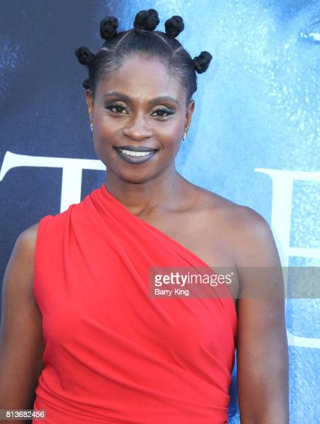 Actress Adina Porter attends the Premiere of HBO's 'Game Of Thrones' Season 7 at Walt Disney Concert Hall on July 12 2017 in Los Angeles California