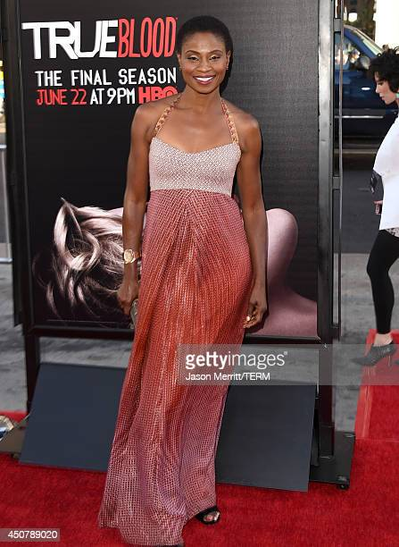 Actress Adina Porter attends the premiere of HBO's 'True Blood' season 7 and final season at TCL Chinese Theatre on June 17 2014 in Hollywood...
