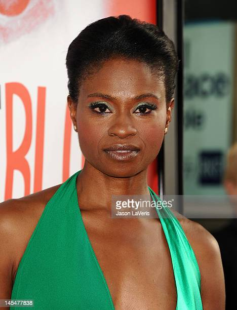 Actress Adina Porter attends the season 5 premiere of HBO's 'True Blood' at ArcLight Cinemas Cinerama Dome on May 30 2012 in Hollywood California