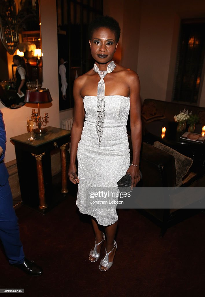 Actress Adina Porter attends the Variety and Formula E Hollywood Gala at Chateau Marmont on April 4, 2015 in Los Angeles, California.