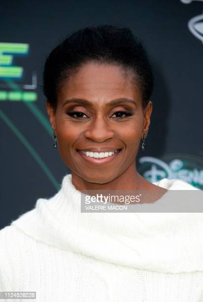 Actress Adina Porter attends the world premiere of Disney channel original movie 'Kim Possible' in North Hollywood California on February 12 2019