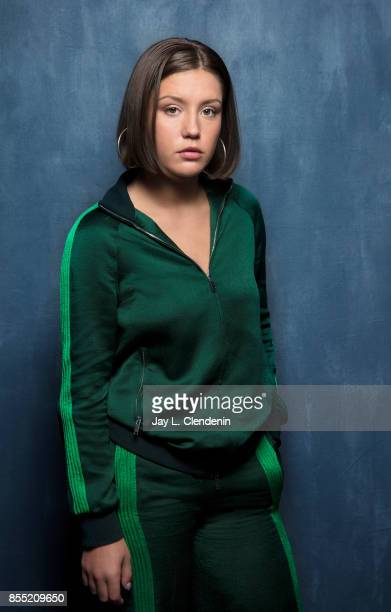 Actress Adèle Exarchopoulos from the film Racer and the Jailbird poses for a portrait at the 2017 Toronto International Film Festival for Los Angeles...