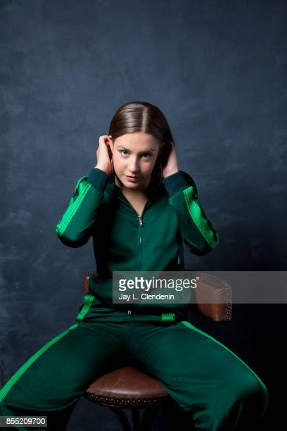 Actress Adèle Exarchopoulos from the film 'Racer and the Jailbird' poses for a portrait at the 2017 Toronto International Film Festival for Los...