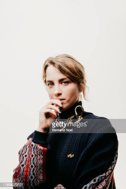 Actress Adèle Haenel poses for a portrait on May 19 2019 in Cannes France